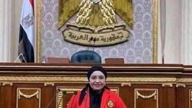صورة النائبة دعاء عريبي تهنئ الرئيس السيسي والقوات المسلحة بثورة 23 يوليو المجيدة