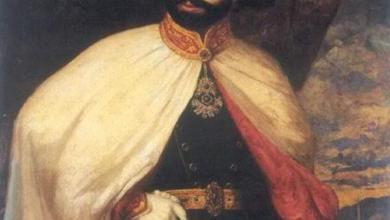 صورة الحملات العثمانية المصرية على الدولة السعودية