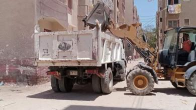 صورة محافظ أسيوط : حملات مستمرة للنظافة ورفع المخلفات