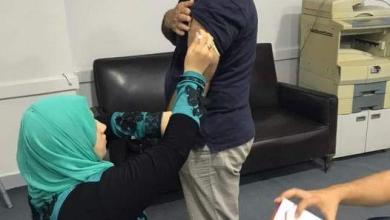 صورة استمرار استكمال تلقى العاملين بديوان مديرية التربية والتعليم لقاح التطعيم ضد فيروس كورونا
