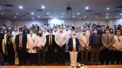 صورة وزيرة الصحة تعقد اجتماعًا مع أطباء الزمالة المصرية بمحافظة الأقصر
