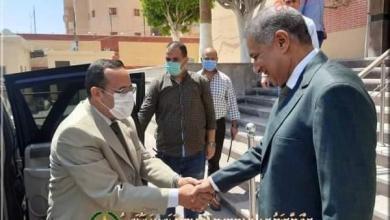صورة محافظ شمال سيناء يهنئ مدير الأمن الجديد ويحيى جهود رجال الشرطة