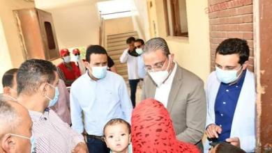 صورة محافظ الفيوم يتفقد أعمال القافلة الطبية للهلال الأحمر المصري