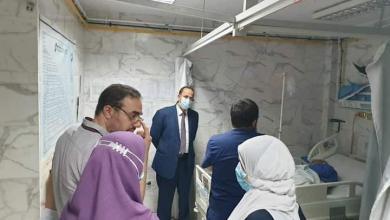 صورة مرور مفاجئ لوكيل وزارة الصحة بالقليوبية على بعض مستشفيات المحافظة