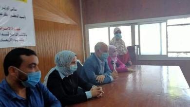 صورة ندوة الاستمرار فى تنفيذ الإجراءات الاحترازية لمواجهة فيروس كورونا حرصا على صحة المواطنين