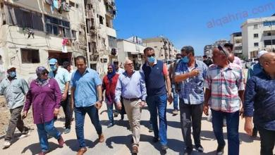 صورة محافظ بورسعيد يتفقد أعمال تطوير شارع ٢٣ ديسمبر ويوجه بسرعة الانتهاء من الأعمال