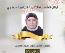 صورة الغضبان يهنىء أوائل الثانوية الأزهرية من أبناء بورسعيد الحاصلين على مراكز متقدمة على مستوى الجمهورية