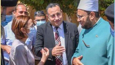 صورة عازر تشارك في قافلة جامعة الإسكندرية
