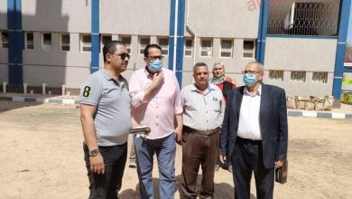 صورة وكيل الوزارة يتفقد مدرسة المهندس منير عطية بغرب طنطا تمهيداً لافتتاحها