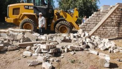 صورة إستمرار أعمال الموجة 18 لإزالة التعديات على أراضي الدولة بالدقهلية