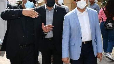 صورة وزير الرياضة يطمئن على تطبيق الإجراءات والضوابط الاحترازية أثناء انتخابات نادى التوفيقية