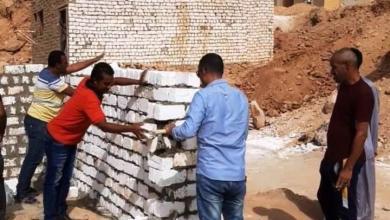 صورة إزالة تعديات بمساحة ألف و260 م2 بالصداقة الجديدة وقرية الجعافرة