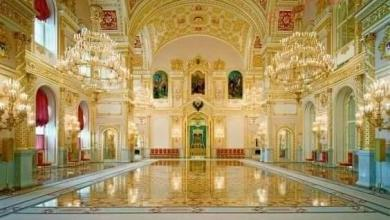 صورة قصر الكرملين الكبير بروسيا