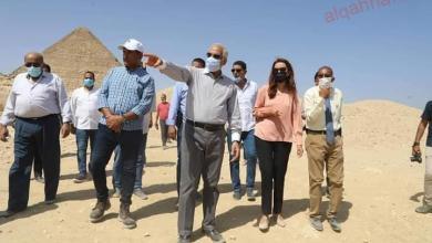 صورة محافظ الجيزة يتابع نسب تنفيذ إزالة العقارات المتهالكه بمنطقة سن العجوز الغير أمنه