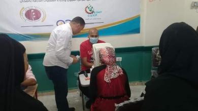 صورة صناع الخير تنجح في توقيع الكشف الطبي على ٨٣٠ حالة ضمن مبادرة عنيك في عنينا بقنا