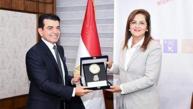 صورة وزيرة التخطيط والتنمية الاقتصادية تستقبل المدير العام لمنظمة الايسيسكو