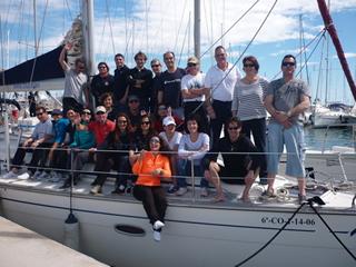 Tripulantes de Illuka Sailing  en viajes de Semana Santa