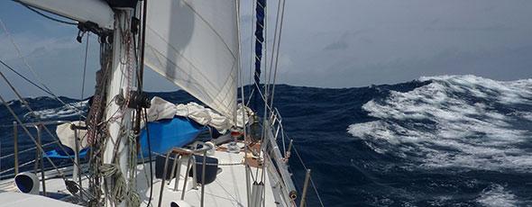 Consejos para navegar con climatología adversa
