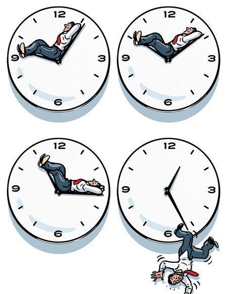El tiempo que perdemos y no vuelve