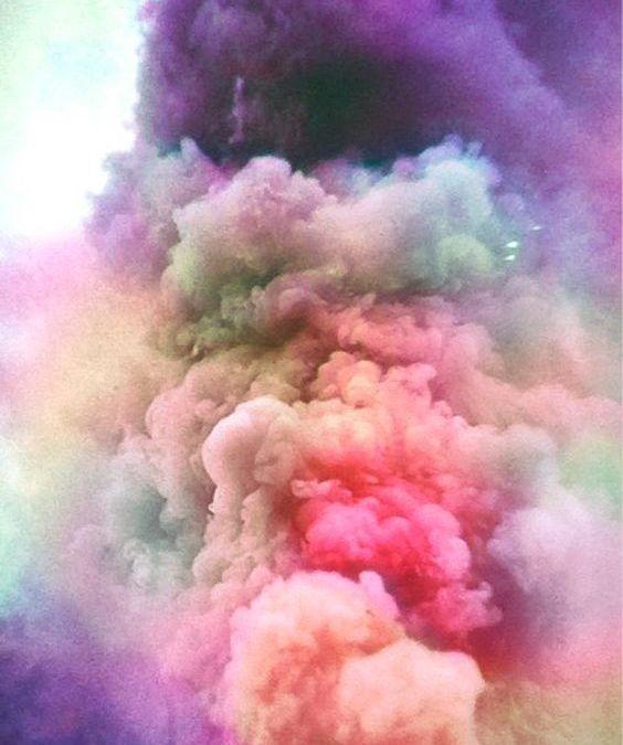 Postales desde el cielo: Estallido de colores