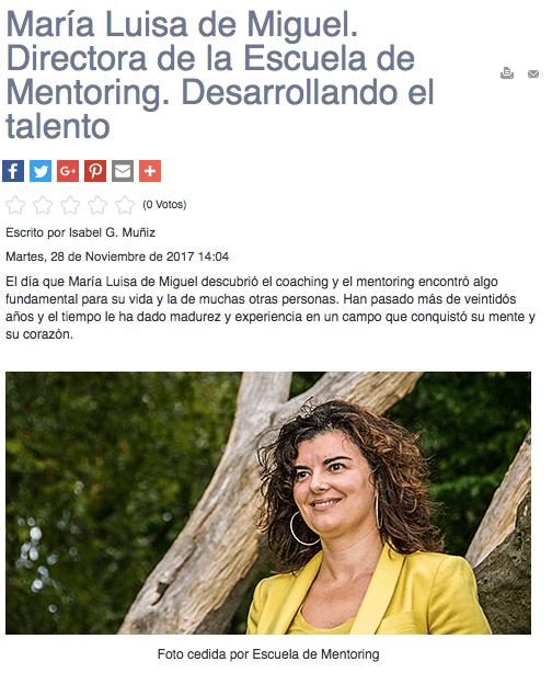 """Entrevista en """"Fusión Asturias"""": Desarrollando el Talento"""