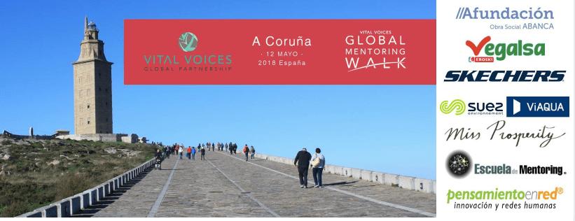 12 Mayo estaré en A Coruña formando parte del Global Mentoring Walk España 2018