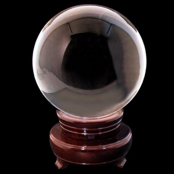 Bola de cristal para adivinación