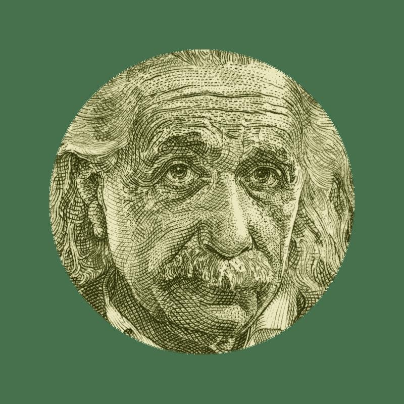 Mapa de Albert Einstein, segundo a Numerologia Cabalística
