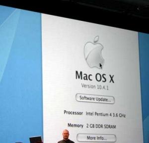 Mac se pasa a Intel…