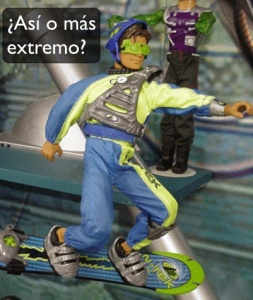 Max steel extremo
