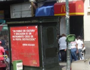 Publicidad «camuflajeada» en Caracas pt. 1…