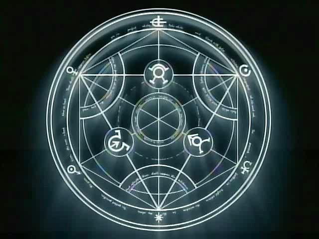 Full Metal Alchemist Circulo