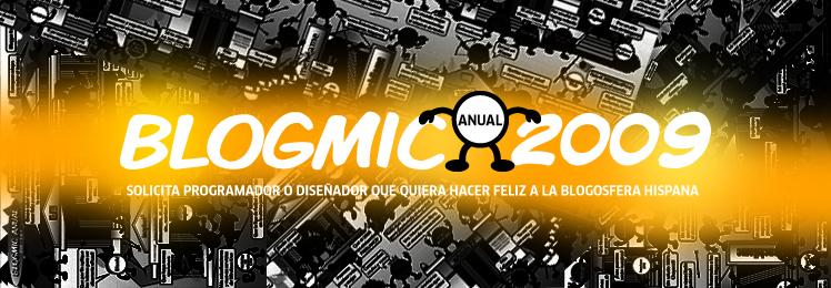 Solicitamos un programador o diseñador para Blogmic Anual 2009