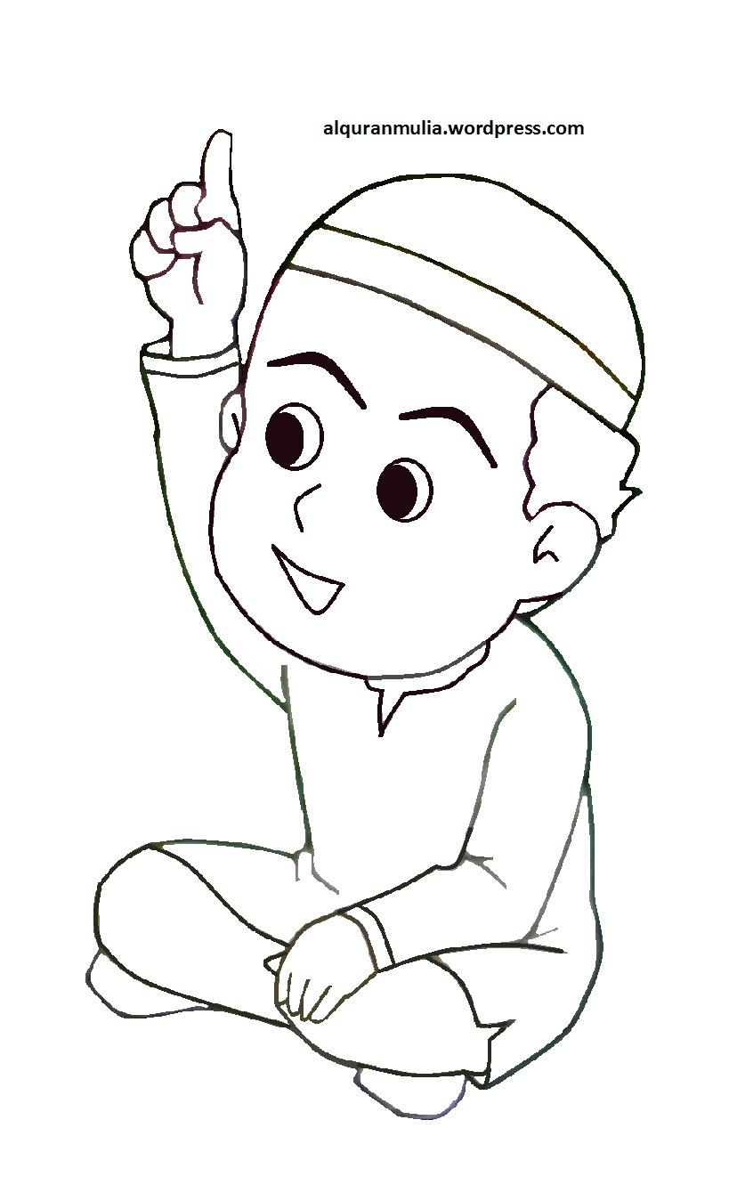 Koleksi 64 Gambar Animasi Anak Tk Muslim HD Gratis Gambar