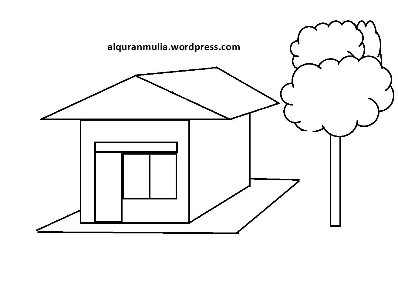 Gambar Rumah Gadang Hitam Putih Gambar Desain Rumah Modern Hitam