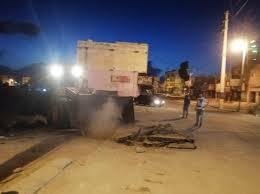 غلق أمني على طريق الشونه الشمالية عقب تعرض طبيب لإطلاق نار