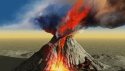 تفسير حلم البركان في المنزل في المنام