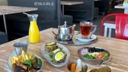 مطعم الركن البخاري في العاصمة الرياض