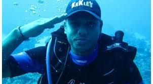 مكث تحت الماء لاكثر من 6 ايام