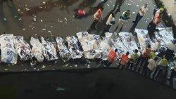 مقتل 46 صهيوني في انهيار جسر خلال احتفال يهودي