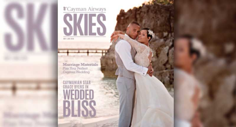 Grace-and-Trai-Byers-Covers-May-June-Cayman-Airways-Skies'-Magazine