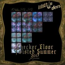 LD Checker Floor Textures fullperm Twisted Summer 2017