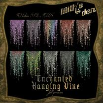 LD Enchanted Hanging Vine 10 fullpermission textures 512x1024