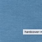 Bookkram – beklædning af bind metalfarve blå 601- 2270-601