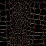 Krokodille læderpapir – sort