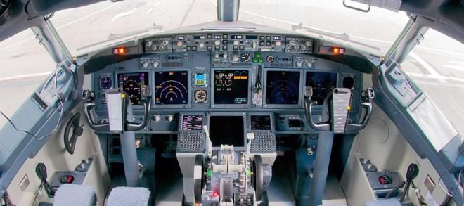 Penampakan kokpit boeing 737 max 8 - wikimedia
