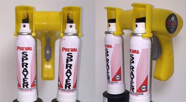 Dual Aerosol Sprayer
