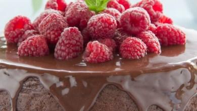 Photo of كيك الشوكولاتة السهل بدون طحين