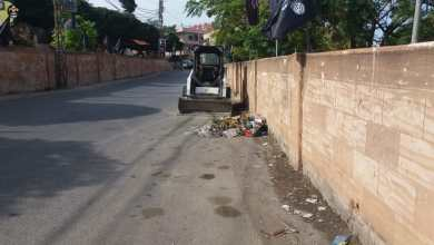 Photo of بلدية السكسكية تنظف شوارع البلدة