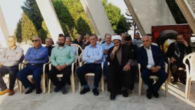 Photo of إحياء يوم الشهيد عند نصب السيد عباس الموسوي – تفاحتا